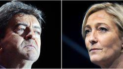 Pour Le Pen, une alliance antisystème avec Mélenchon sur le modèle italien serait