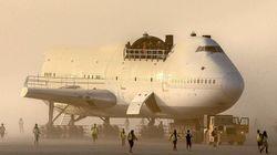 Ce Boeing 747 a (enfin) pu être déplacé du site du
