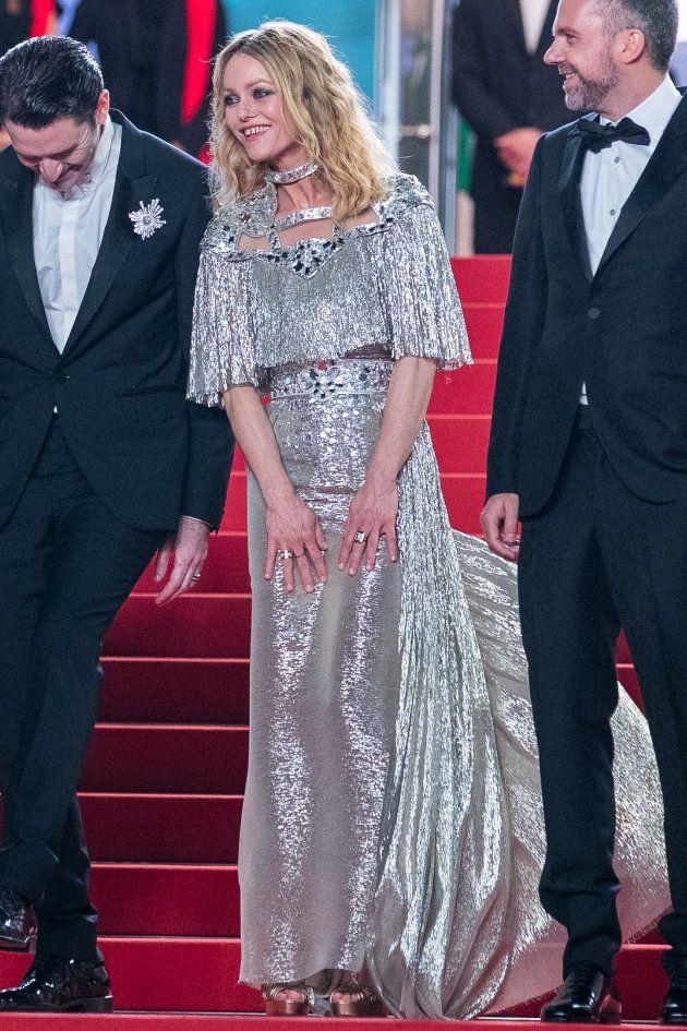Au Festival de Cannes 2018, Vanessa Paradis a osé un look