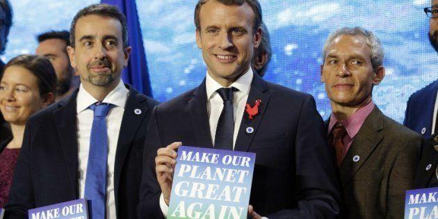 Macron dévoile les 18 lauréats de son