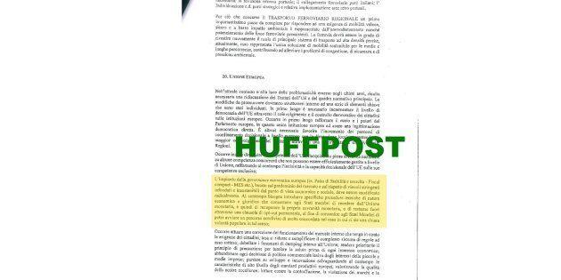 Ce que contient la version finale du programme commun des populistes en Italie (Photo: un extrait de...