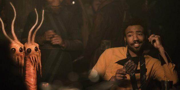 Donald Glover is Lando Calrissian in SOLO: A STAR WARS