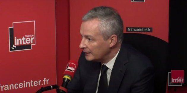 Bruno Le Maire exclut d'en finir avec la revalorisation automatique du