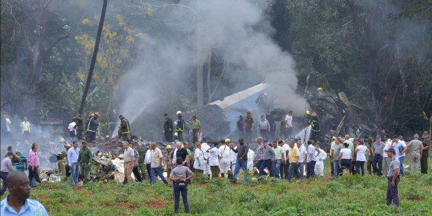Un avion de ligne s'écrase au décollage de La