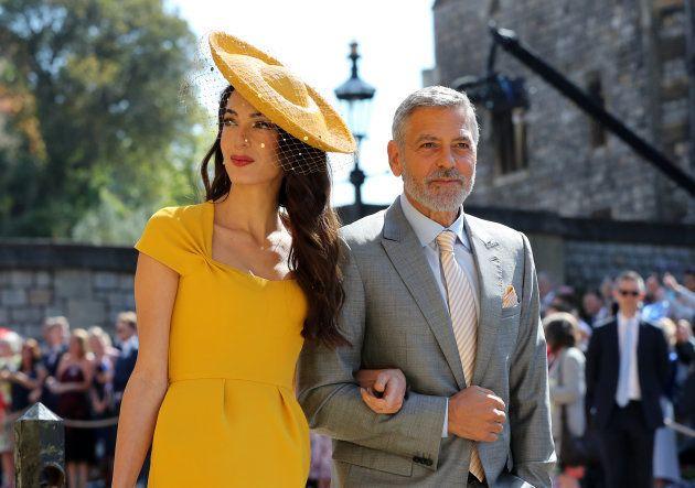 Amal et George Clooney au mariage du prince Harry et de Meghan Markle: ils volent la vedette à tous les...