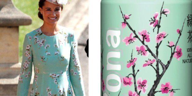 La robe de Pippa Middleton au mariage du prince Harry et de Meghan Markle a rappelé une célèbre