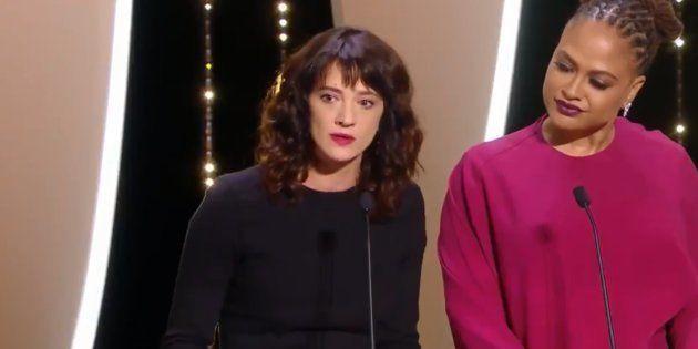 Festival de Cannes 2018 : Asia Argento promet sur scène de ne pas laisser les agresseurs sexuels s'en