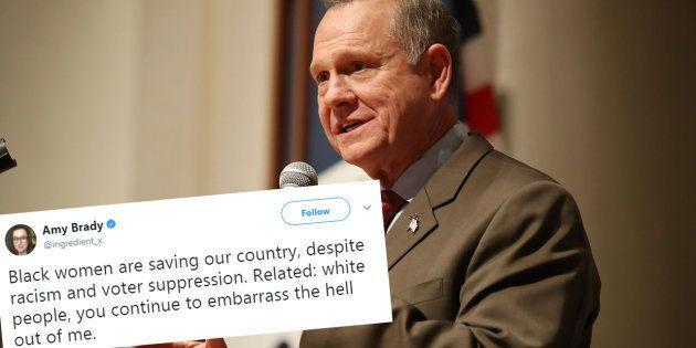 Roy Moore battu en Alabama, ces Américains remercient