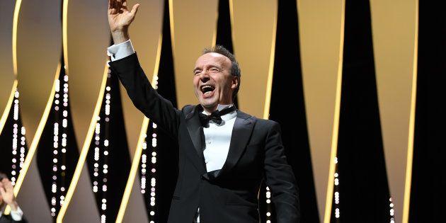 Au festival de Cannes, Roberto Benigni invente une expression