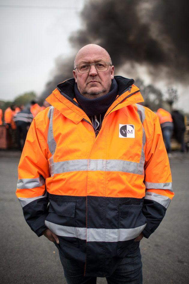 Jean-Michel, 56 ans, dont 39 passés à l'usine. Saint-Saulve (59), le 27 octobre