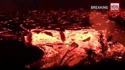 Ces nouvelles images des coulées de lave à Hawaï sont dignes du