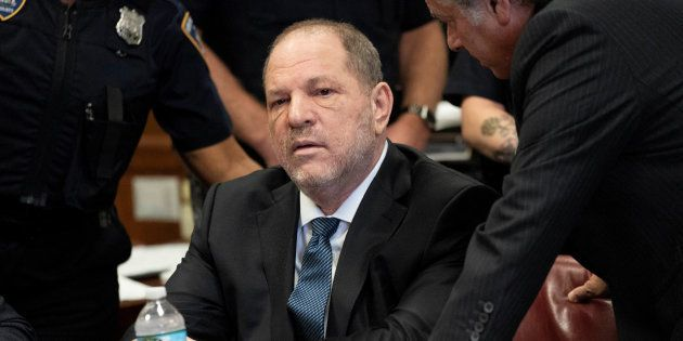 Harvey Weinstein devant le tribunal de New York le 11