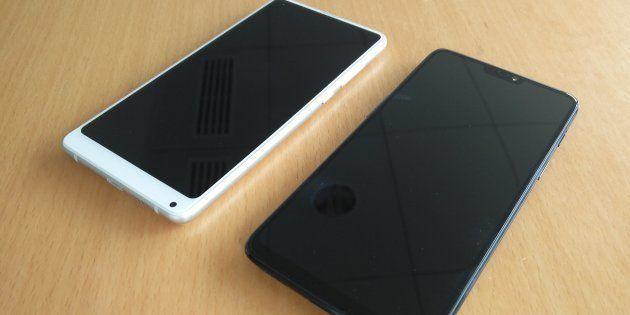 Les OnePlus 6 et Xiaomi Mi Mix 2S, deux fois moins chers que l'iPhone X, valent-ils le