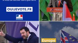Un clip du gouvernement pour les européennes accusé de