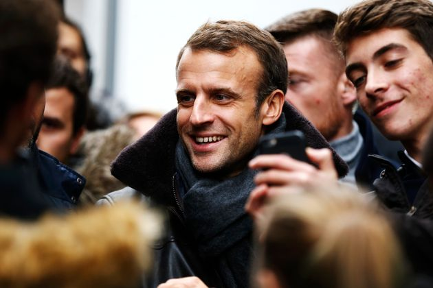 Honfleur: Macron en week-end