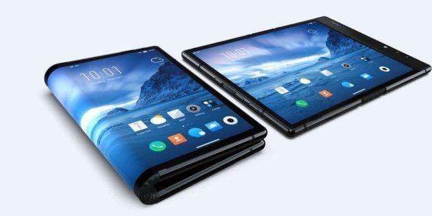 Le FlexPai de Rouyu Technology, premier smartphone à écran pliable au
