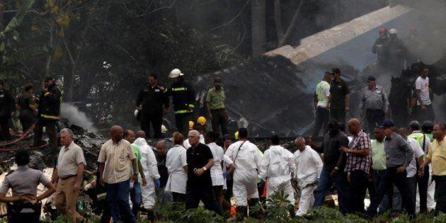 Crash aérien à Cuba: une survivante décède, le bilan passe à 111