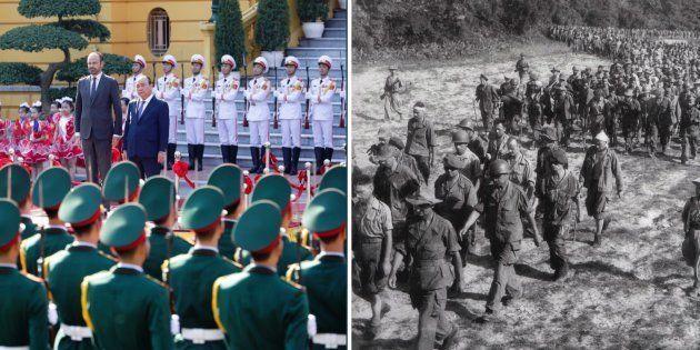 En visite au Vietnam, le premier ministre Édouard Philippe est le second dirigeant à se rendre sur le...
