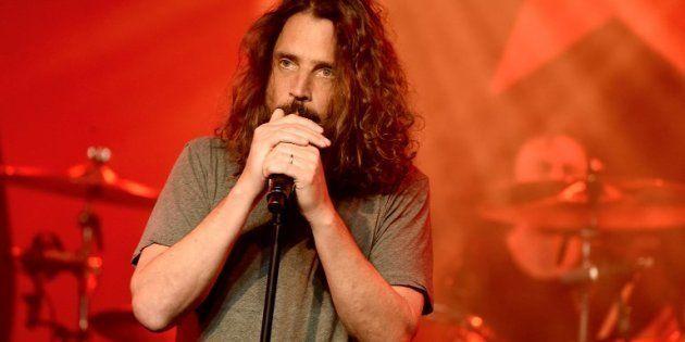 Chris Cornell sur scène le 20 janvier 2017 à Los
