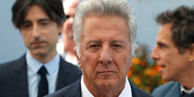 Dustin Hoffman lors du Festival de Cannes