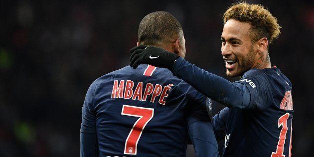Kylian Mbappé et Neymar ont chacun signé un but et une passe décisive dans la victoire (2-1) du PSG sur
