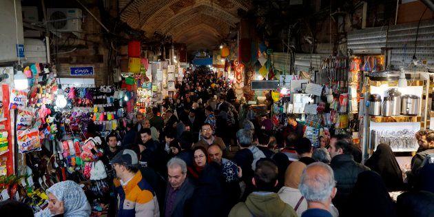 Le Grand Bazar de Téhéran, janvier