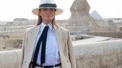 Le passage de Melania Trump au Caire a coûté 95.000 dollars et ça fait