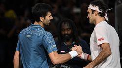 Dans un match dantesque, Djokovic fait plier Federer à