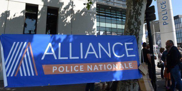 Le siège du syndicat policier Alliance