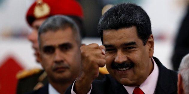 Au Venezuela, Nicolas Maduro, un Président réélu jusqu'au bout de la