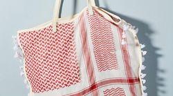 Accusé de ressembler aux foulards traditionnels des Palestiniens, ce sac a été retiré du