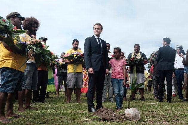 Nouvelle-Calédonie: à quoi faisait référence Macron dans son discours en parlant d'une petite