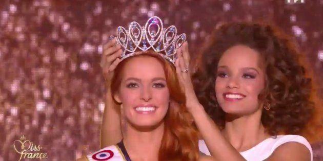 Maëva Coucke sacrée Miss France