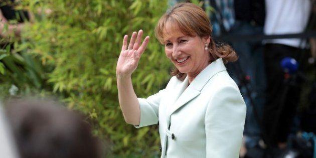 Ségolène Royal candidate PS aux