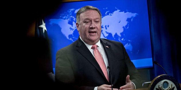 Le secrétaire d'État américain Mike Pompeo a annoncé que la liste noire des personnes et entités concernées...