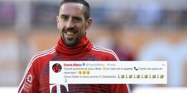 Après le renoncement d'Adrien Rabiot, Franck Ribéry envoie un message (codé) à Didier