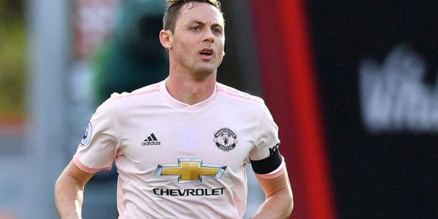 Lors de la rencontre Bournemouth-Manchester United, Nemanja Matic n'arborait pas le coquelicot censé...