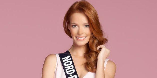 Miss Nord-Pas-de-Calais Maeva Coucke- Studio candidates Miss France