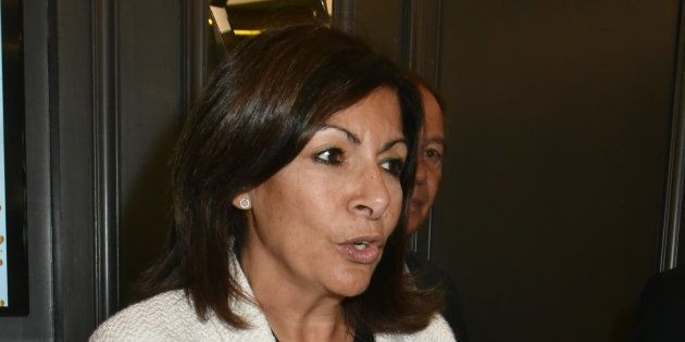 Anne Hidalgo à Paris le 15 octobre