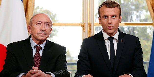 Emmanuel Macron et Gérard Collomb le 30 octobre à