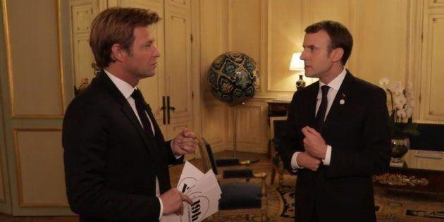 Macron au 20h de France 2 pour surfer sur son regain de