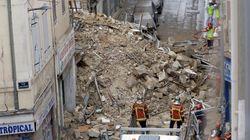 Quatre corps découverts sous les gravats après l'effondrement d'immeubles à