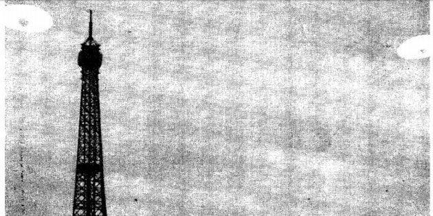La France aussi enquête sur les ovnis depuis 40 ans (photo: une photo déclassifiée de la