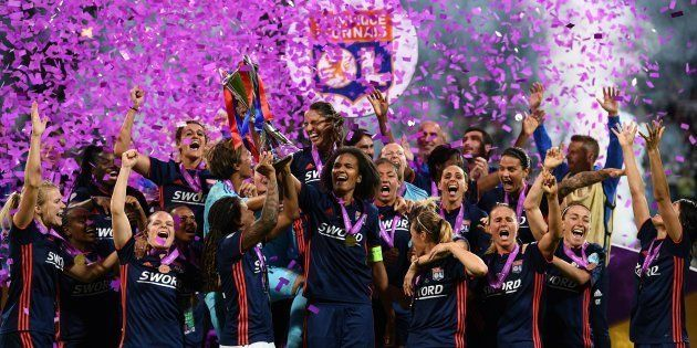 Ligue des champions féminines: l'Olympique lyonnais remporte son cinquième trophée et entre dans