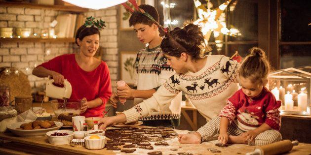 Mes 4 conseils pour que les préparatifs du repas de Noël ne vous stressent pas.