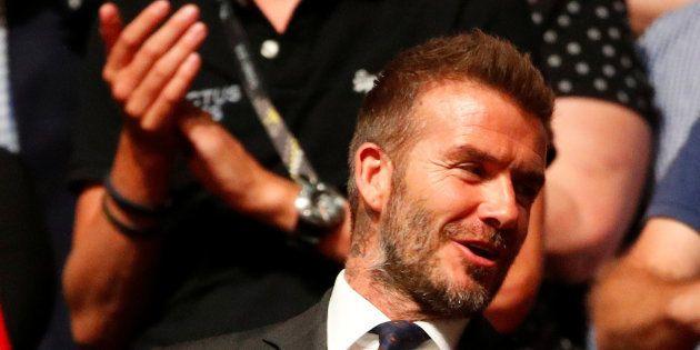 David Beckham en Australie le 27