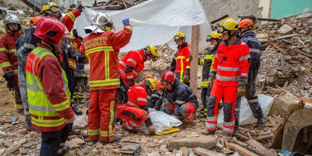 Un sixième corps a été découvert mercredi sous les décombres des immeubles effondrés dans le quartier...