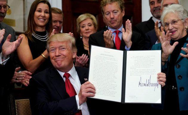 Donald Trump et le décret permettant de contourner