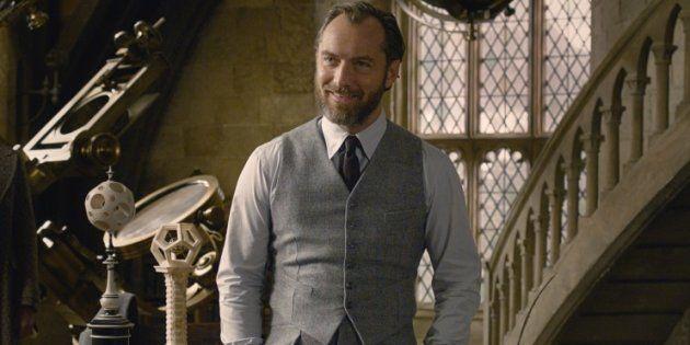 Dumbledore est joué par Jude Law