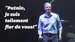 Le juron enthousiaste de Beto O'Rourke, espoir démocrate, malgré sa défaite aux